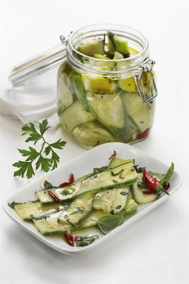zucchine in marinata - Lazio