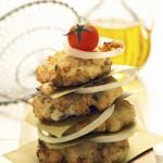 Mashed Potato Latkes with Fresh Herb Medley
