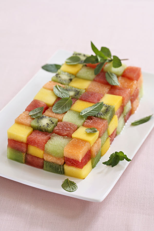 Edible Mosaic by DinnerinVenice.com 1279