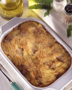 Timballo di Patate e Funghi (Potato and Mushroom Gateau)