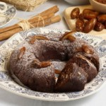 Chocolate Cake with Dates and Almonds (Dairy or Parve)