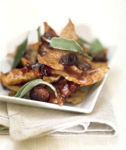Veal Strips in Sweet-and-Sour Sauce with Grapes GF