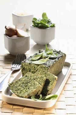 Sformato di Spinaci (Spinach Terrine) (Dairy)