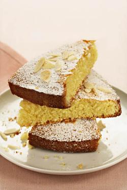 Lemon Almond Cake (Parve, GF, gebrokt-free)