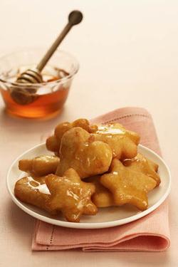 Hanukkah Treats with Sambuca and Honey (Dairy)