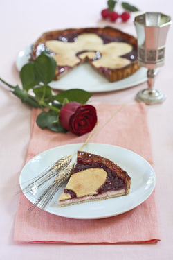 Crostata di Visciole (Sour Cherry Tart) (Dairy)
