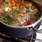 Minestrone – Italian Vegetable Soup