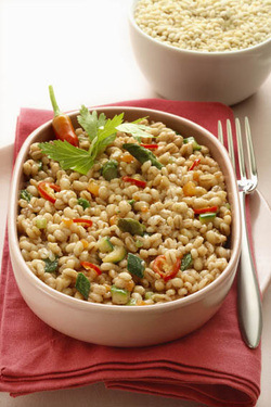 """Orzotto"" with Vegetables – Barley ""Risotto"" (Parve or Dairy)"