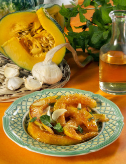 """Zucca Barucca (""""Holy"""" Pumpkin or Butternut Squash) (Parve)"""