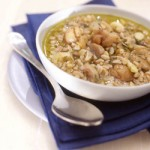 Chestnut and Spelt Soup