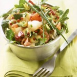 Smoked Fish and Grapefruit Salad
