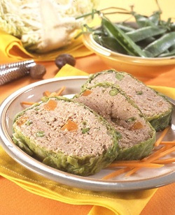 … or simply wrap your Meatloaf in Cabbage Leaves! (Meat)