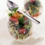 Zucchini and Goat Cheese Salad