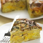Potato and Mushroom Timballo