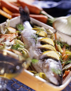 Roasted Fish with Fennel