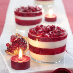 Panna Cotta alla Melagrana – Pomegranate Cream Custard