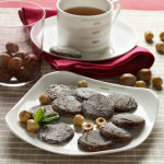Hazelnut Cocoa Tea Cookies