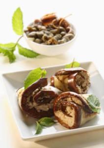 Eggplant Roulades with Tuna