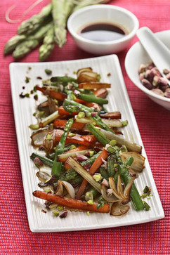 Vegetable Saute with Pistachios