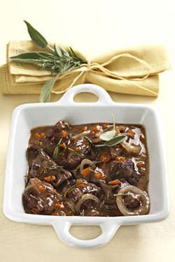 Fragrant Stew with Wine and Herbs