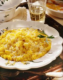 Riso Giallo del Sabato (Yellow Rice for Shabbat)