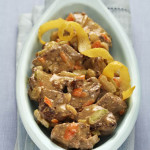 Agnello in Fricassea - Italian Lamb Fricassee