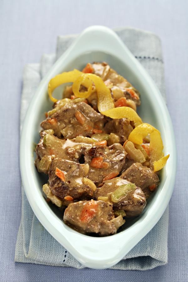 Italian lamb fricassee - fricassea