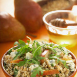 Farro Salad with Pears and Cheese