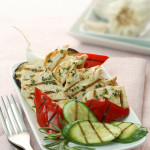 Grilled Vegetable Chicken Salad