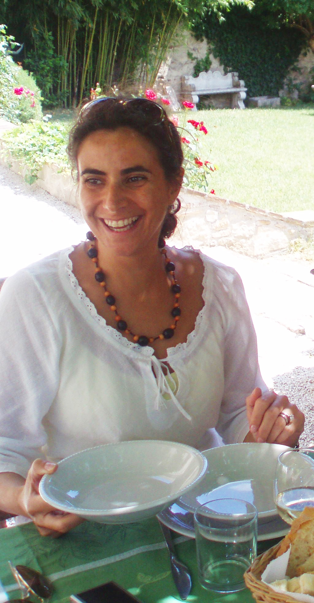 Silvia Nacamulli at Relais dei Ciclamini