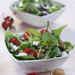 Summer Cherry Salad by DinnerinVenice.com