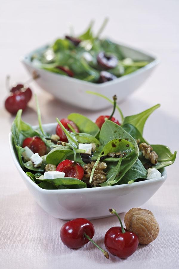 Summer Cherry Salad by DinnerinVenice.com