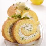 Pistachio and Cream Swiss Roll