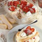Strawberry and Prosecco Tiramisu