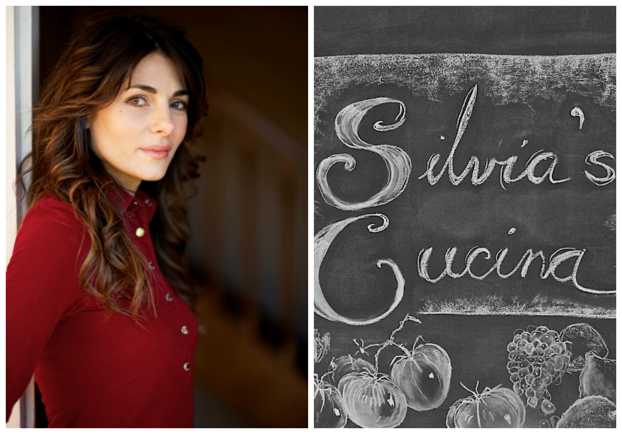 Silvia Colloca - Italian food blogger, actress. SilviasCucina.net