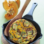 Butternut Squash and Zucchini Frittata