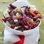 Warm Radicchio Salad with Red Onion and Dates